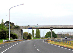 On Auckland's Southern Motorway