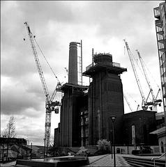 Battersea Power Station development.