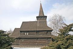Ligna ortodoksa preĝejeto en Dobříkov