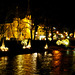 DE - Bad Neuenahr - River Ahr illuminated for Christmas
