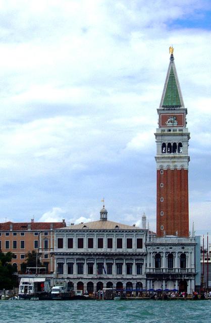 IT - Venice - Campanile, seen from a Vaporetto