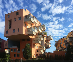 in the courtyard: consolidation of urban development