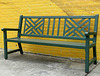 Bench and a Sunflower -