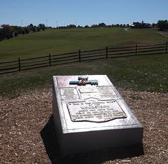 Woodstock festival monument