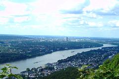 DE - Königswinter - View from Drachenfels towards Bonn
