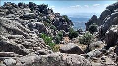 La Sierra de La Cabrera, granite territory.