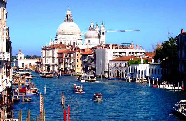 IT - Venice - Santa Maria della Salute, seen from Academy Bridge