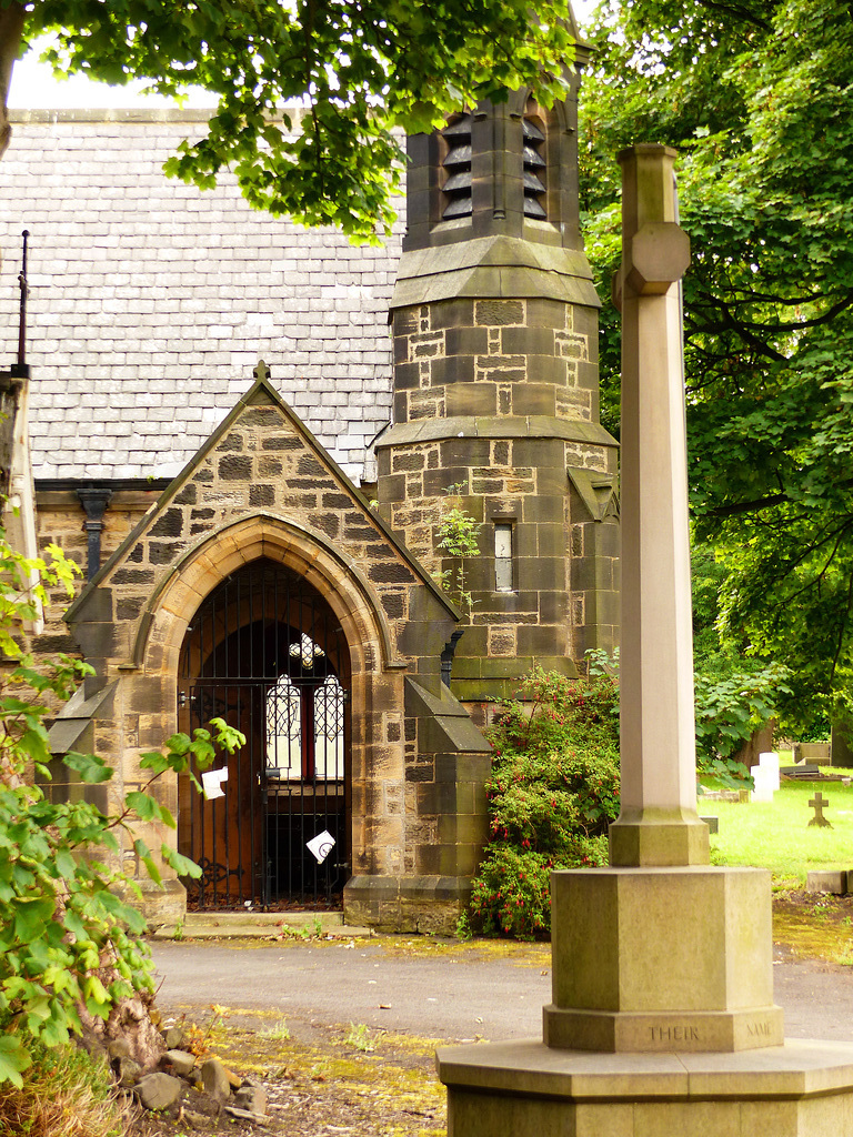 One of 2 Chapels of Rest Wallsend Cemetery