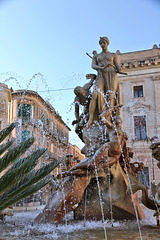 Diana-Brunnen in Syrakus