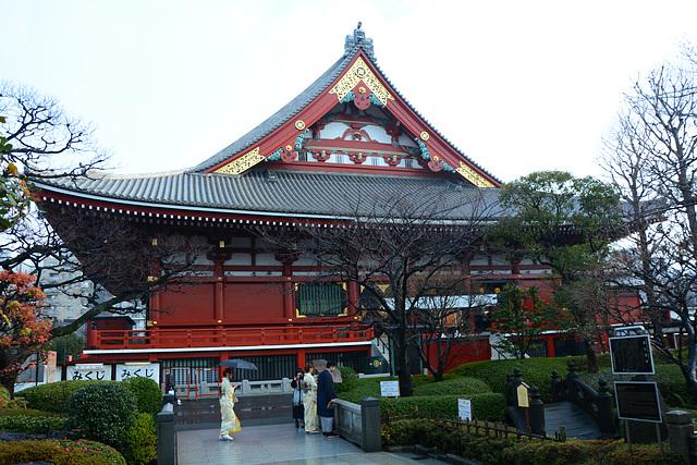 Tokyo, An Ancient Buddhist Temple of Sensō-ji