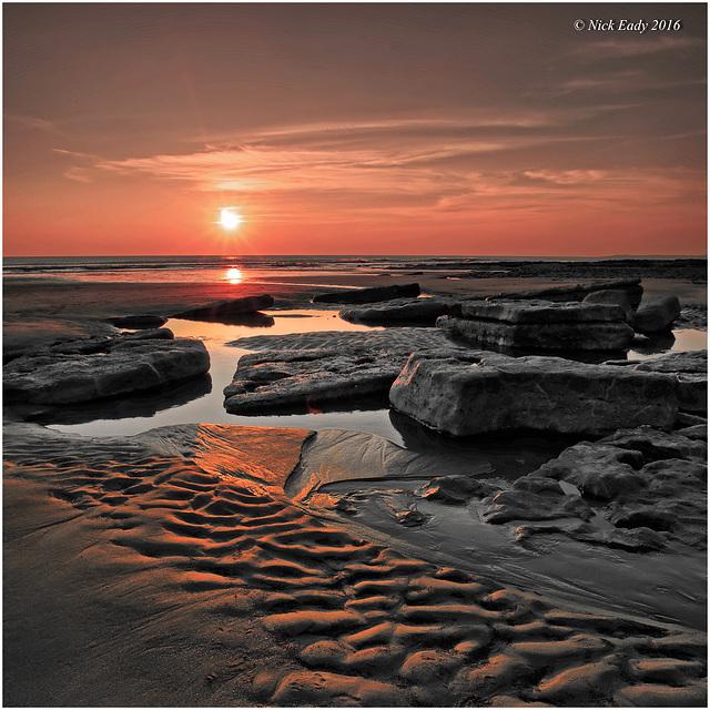 Dunraven Bay Sunset