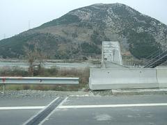 Closed old bridge, Albania