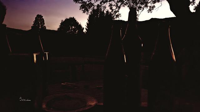 dark bottles