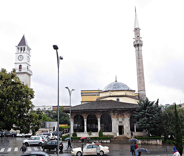 Mosque and clock tower