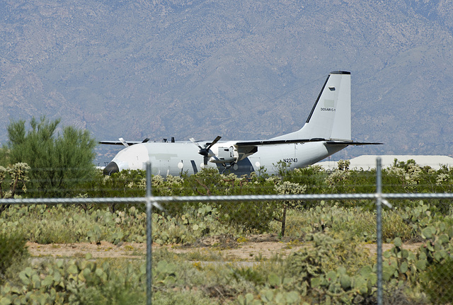 United States Department of State Alenia C-27A Spartan N23743