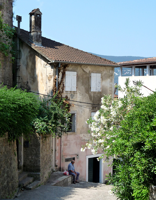 Herceg Novi- Street in the Old Town