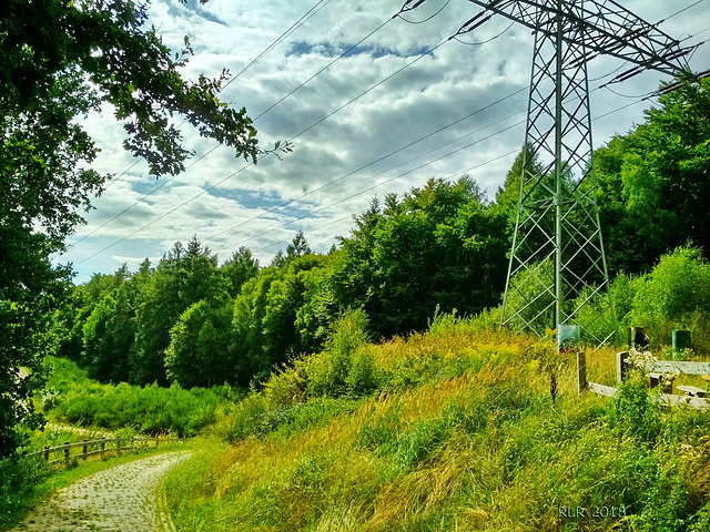 Landschaft bei Schwerin