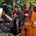 Concert de jazz , sur l'île  Duguesclin , à Saint coulomb , (35) avec the trio Jak O'Jazz de Saint Malo