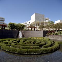 The Getty Garden Maze