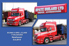 Scania 4-SRS L-class - Newhaven - 5.6.2015