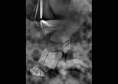 Christiane / Le pouvoir du Talon Haut sur main de soumis