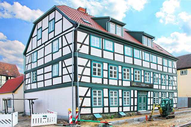 Grabow, Fachwerkhaus