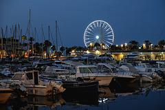 SAINT RAPHAEL: Le port de Saint Raphaël à l'aurore 03.