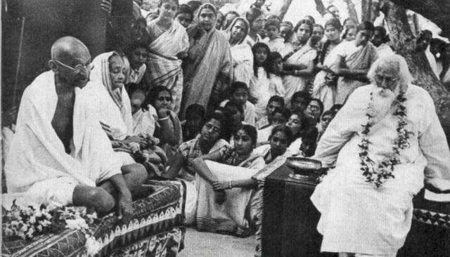 Gandhi-Tagore-1940