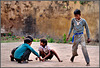 """Playing marbles"" - Orchha - Uttar Pradesh - INDIA"