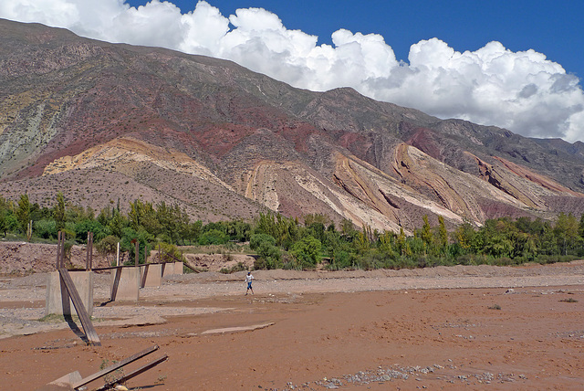 Argentina - Maimará,  Paleta del Pintor