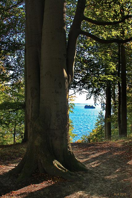 Wiligrad, Blick zur Insel Rethberg