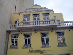 Façade of bank's agency.