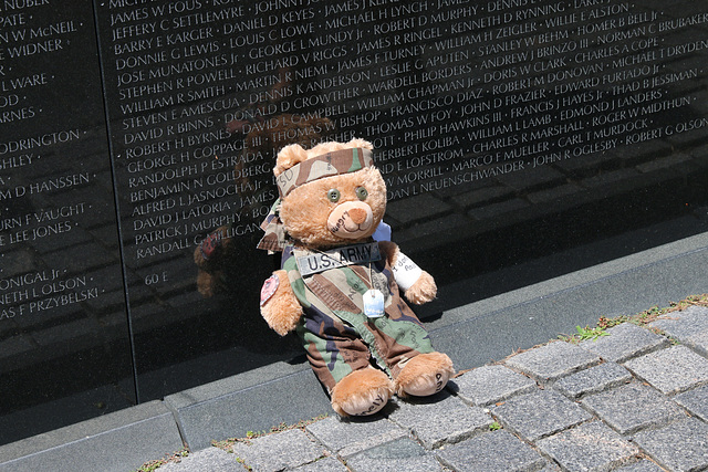 Teddy pays his respects (Explored)