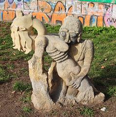 1 (40)a...austria vienna...am kanal..art and graffiti