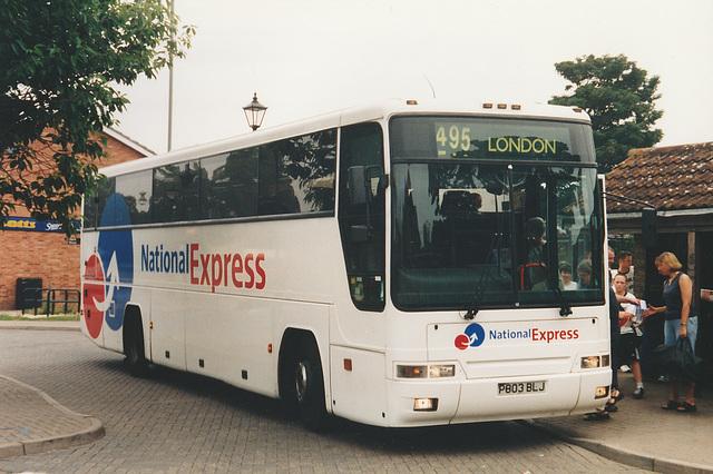 Ambassador Travel P803 BLJ at Mildenhall - 9 Aug 2003
