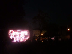 Finalo de la neformala inaŭguro de la muzika festivalo Praga printempo sur la insulo Kampa (2018)