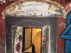 Graffiti crowning window.