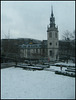St Augustine in the snow