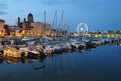 SAINT RAPHAEL: Le port de Saint Raphaël à l'aurore 04.