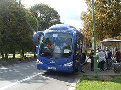 DSCF9318 Freestones Coaches (Megabus contractor) E11 SPG (YN08 JBX) in Cambridge - 19 Aug 2017