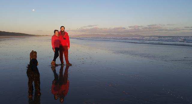 Kon & Heather at Waratah Bay