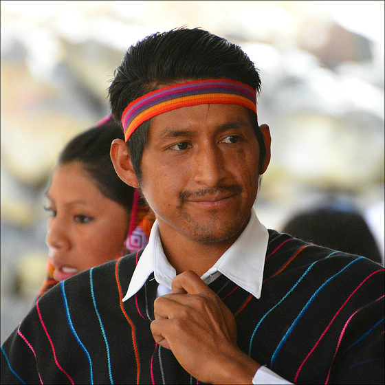 Quichuas man.