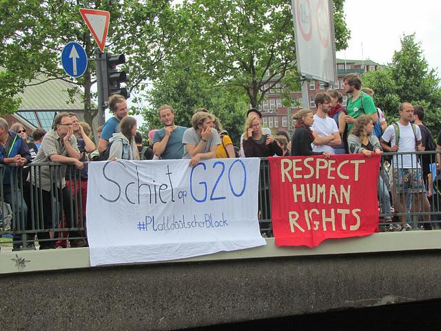 Schiet op G20 - #PlattdüütscherBlock