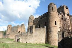 Ethiopia, Gondar, Royal Enclosure of Fasil Ghebbi, The Castle of Fasiledes