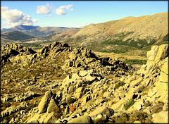 Sierra de La Cabrera, western end.