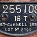 Metro Cammell Solebar Plate 1957