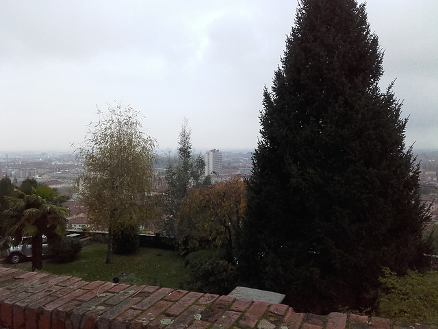 Pinerolo dal Colle di San Maurizio