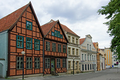 am Schlachtermarkt Schwerin (© Buelipix)