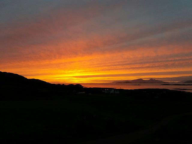 Sanna sunset