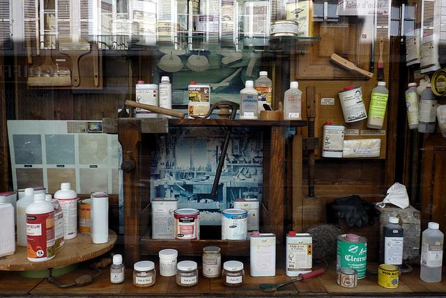 Paris : Aux produits d'antan